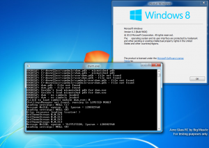 This is preview of Glass8 for Windows 8