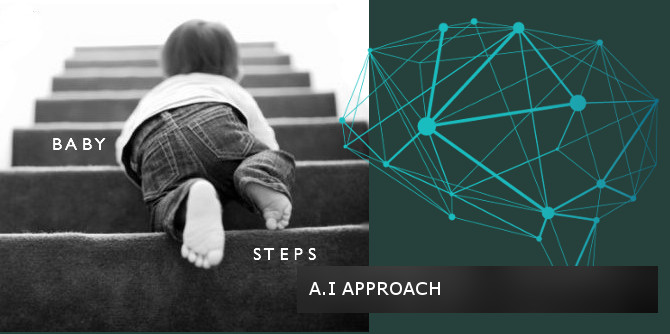 Developing Artificial Intelligence with the Baby-Steps Model