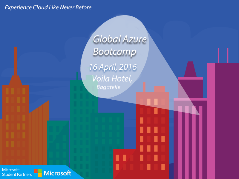 Global Azure Bootcamp 2016 – Big Data Analytics with HDInsight